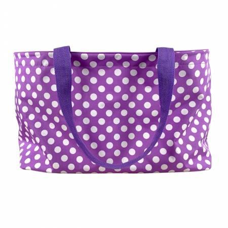 Gypsy Tote Purple Dot