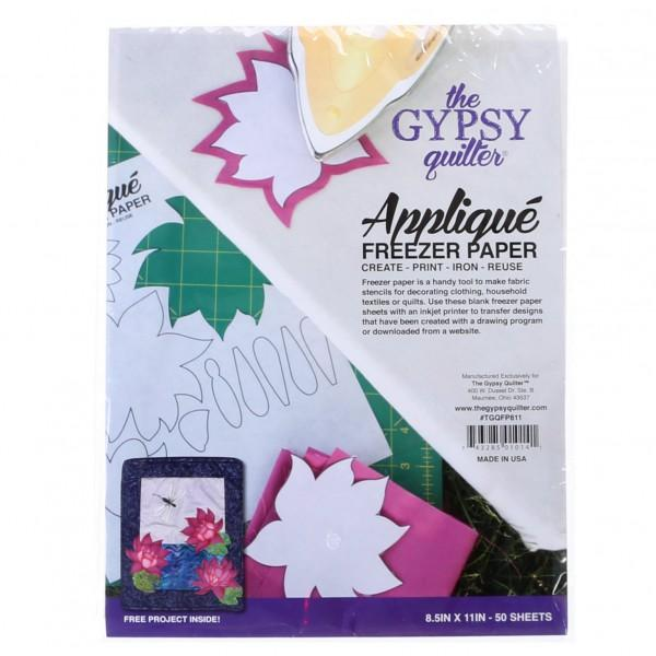 Gypsy Quilter Freezer Paper 8.5in x 11in 50ct