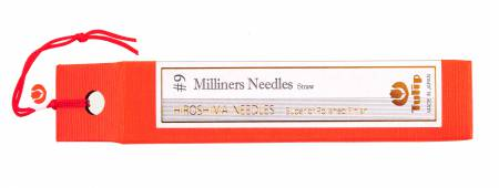 Milliners Needles Straw No 9