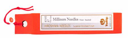 Milliners Needles Straw Assorted Thick Sizes