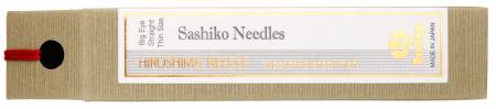 Needles Sashiko Big Eye Straight Thin Size