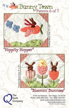 Bunny Town Block 6 Hippity Hopper & Bloomin'  Bunnies
