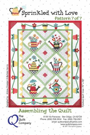 Sprinkled with Love Quilt Pattern Set