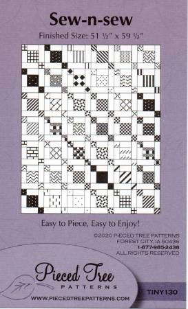 Sew-n-Sew Quilt Pattern TINY130