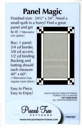 Panel Magic Pattern Card