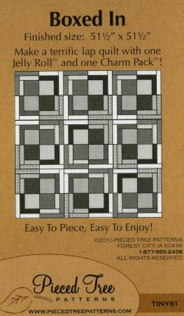 Boxed In Pattern by Pieced Tre