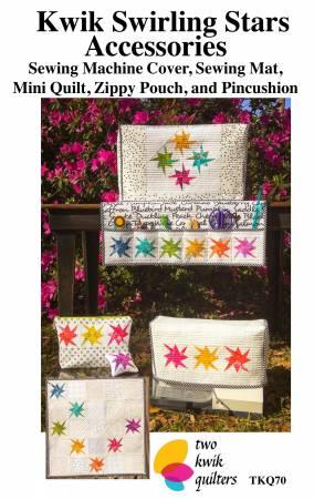 Kwik Swirling Stars Accessories Pattern