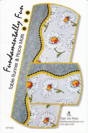 PT- Fundamentally Fun Table Runner & Place Mats