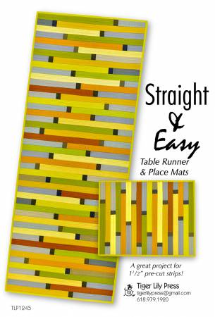 Straight & Easy Table Runner & Place Mats