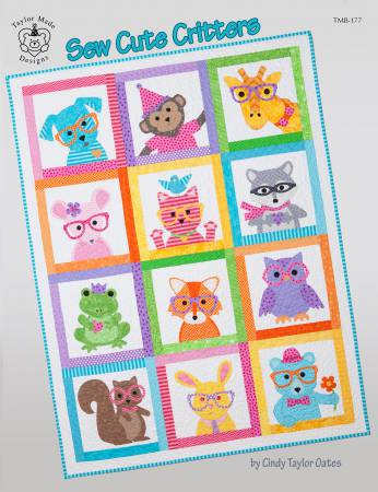 Sew Cute Critters - Softcover