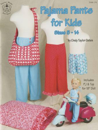 Pattern Book, Pajama Pants for Kids