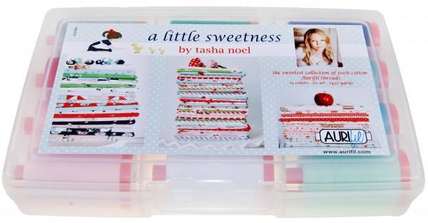 Tasha Noel/'s A LITTLE SWEETNESS Collection 12 Aurifil Threads 50 wt Large Spools