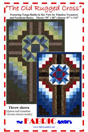 The Old Rugged Cross quilt pattern