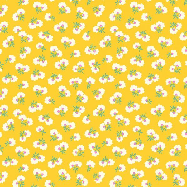 TOY CHEST FLORALS YELLOW