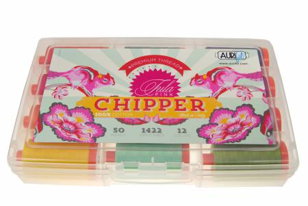 Chipper Collection By Tula Pink 12 Large Spools Cotton 50wt
