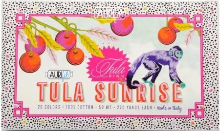 Tula Sunrise Thread Collection - 50wt 20 Small Spools