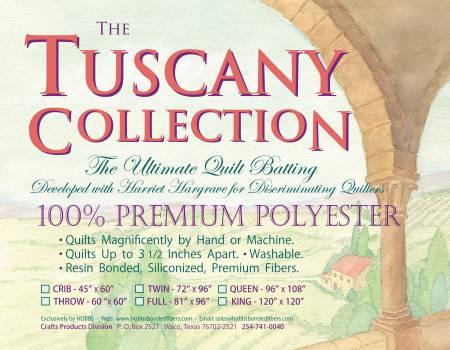 Hobbs Tuscany Poly Batt 96X108