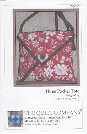3 Pocket Tote