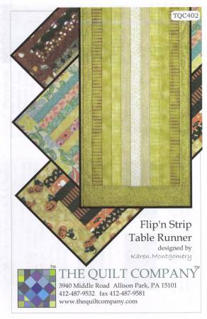 Flip'n Strip Table Runner