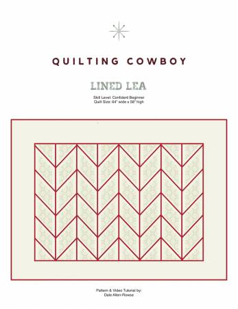 Lined Lea Pattern by Quilting Cowboy