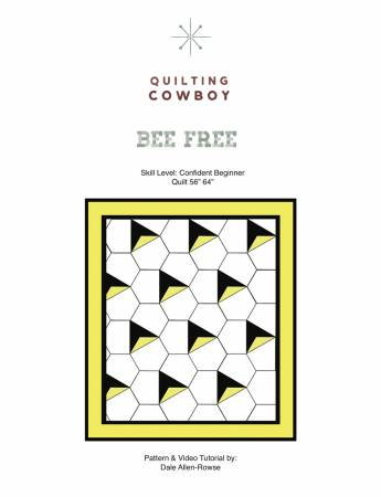 Bee Free Pattern by Quilting Cowboy