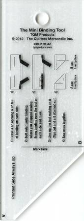 Binding Tool Template Ruler