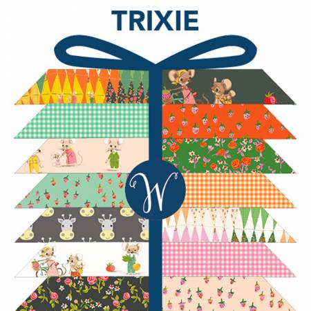 Trixie Fat Quarter bundle 22pcs/bundle
