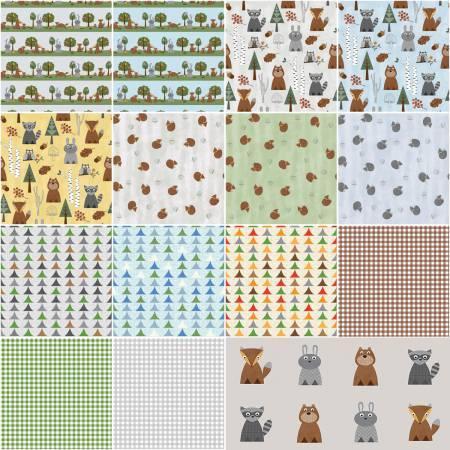 Nature Friends 10 squares 42pcs