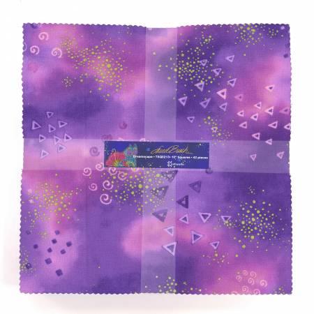 Laurel Burch Basics Dreamscape 10 in squares, 42pcs