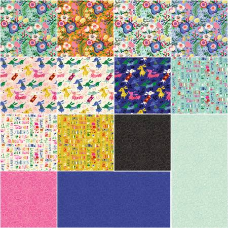 Clothworks Make Today Awesome TSQ0241 10 inch squares