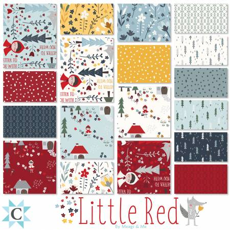 Little Red 10 square bundle 42 pieces