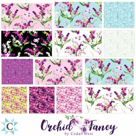 Orchid Fancy, TSQ0271 Bundle 10in Squares 42pcs