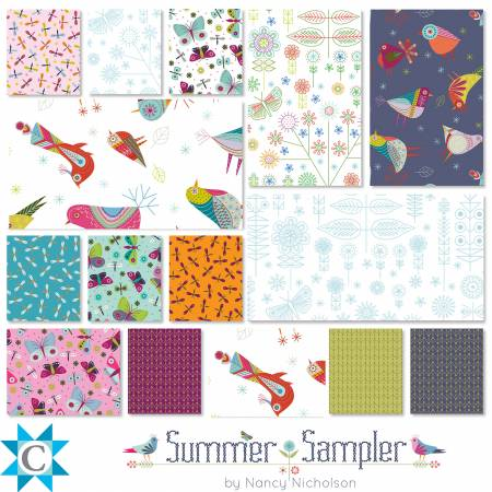 Summer Sampler 10 Square Pack