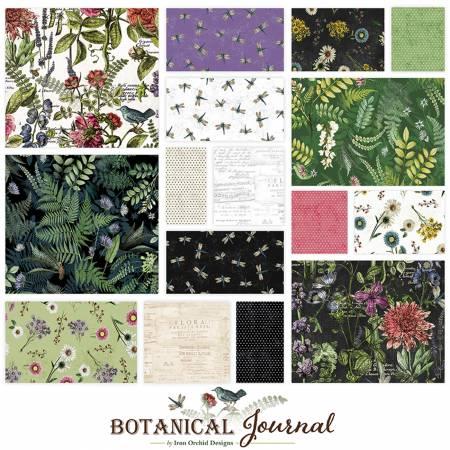 Clothworks Botanical Journal 10in Squares 42pc