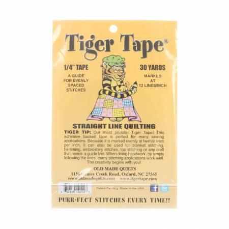 Tiger Tape 12 Marks Inch