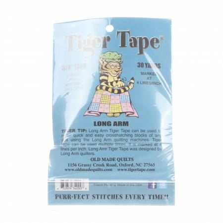 Tiger Tape Machine Tape - 30 Yards