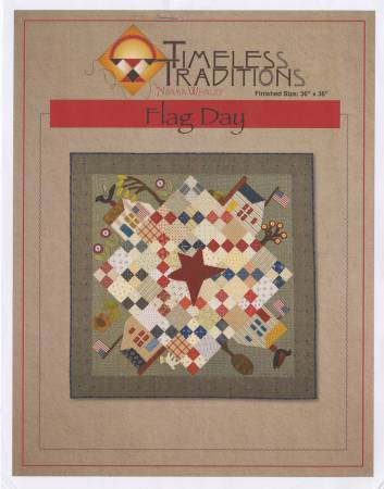 Flag Day Quilt Pattern