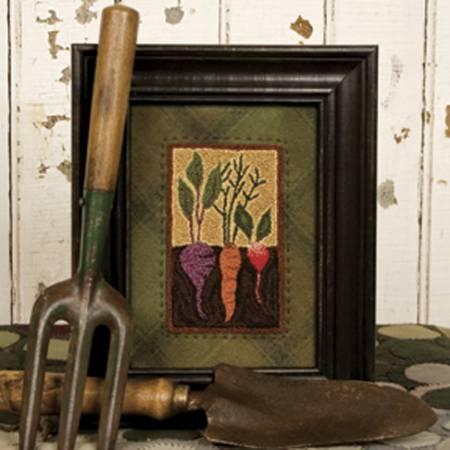 Vegetable Garden - punchneedle