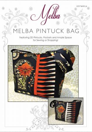 Melba Pintuck Bag Pattern