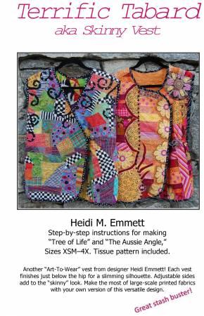 Terrific Tabbard/Skinny Vest pattern