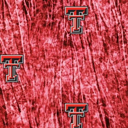 Texas Tech University Tie Dye Print Cotton