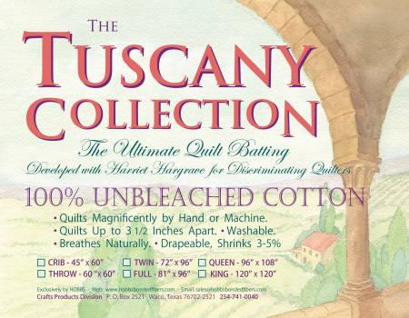 Tuscany Unbleached Crib Batting