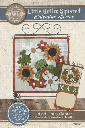 Little Quilts Squared March- Lucky Charmer