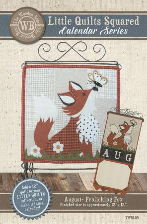 Little Quilts Squared August- Frolicking Fox
