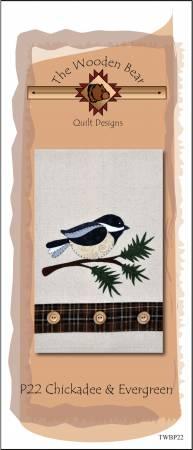 Chickadee & Evergreen