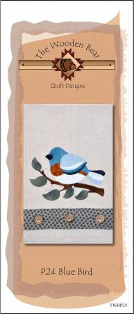 Blue Bird Patternlet