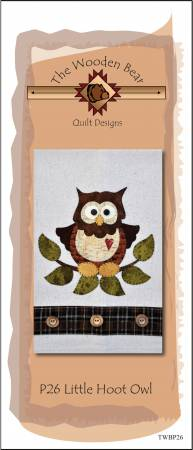 Pattern, Little Hoot Owl Patternlet