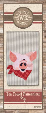 Pig Tea Towel Patternlet