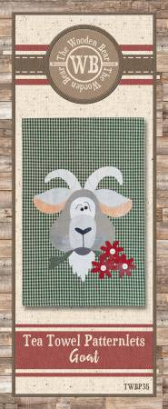 Tea Towel Patternlets Goat