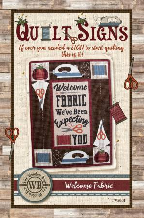 Welcome Fabric Pattern TWBQ01